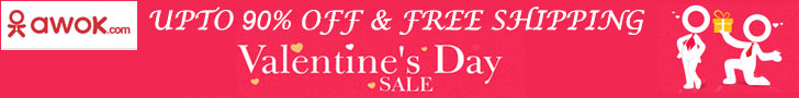 Valentine's Day Sale at Awok - Dubaisavers